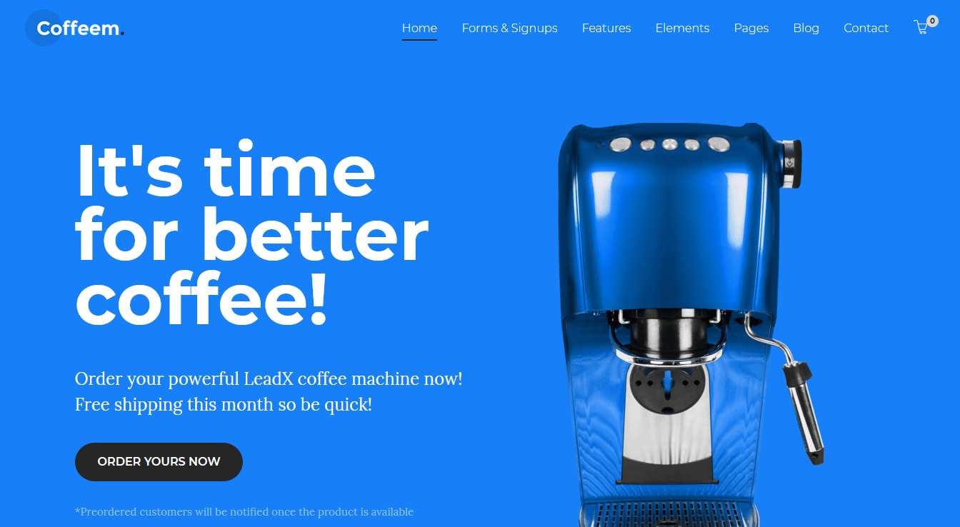 Excelente alternativa para landing page para WordPress
