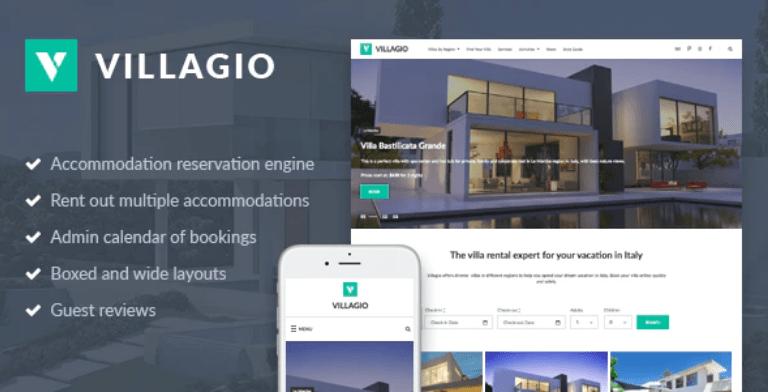 Temas para imobiliária: Template Villagio