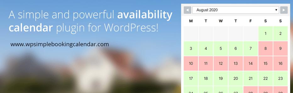 Wp Simple Booking Calendar: Plugin de Agendamento WordPress