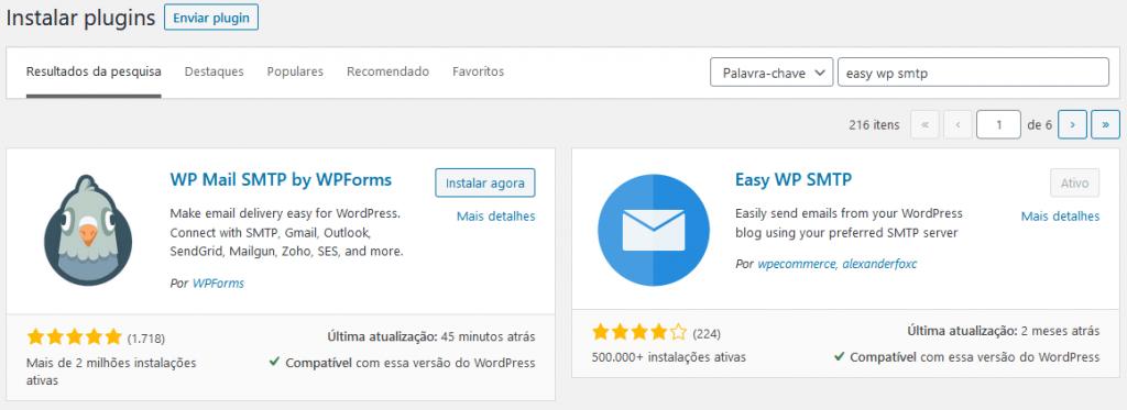 Passo inicial para envio de e-mail na Locaweb